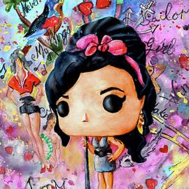 Funko Amy Winehouse by Miki De Goodaboom