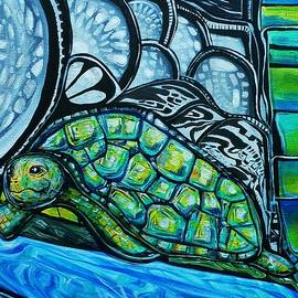 Cosmic Tortuga by Larry Calabrese