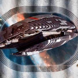 Galactica Commission  by Mario Carini