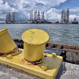 Norman Gabitzsch - Galveston Harbor