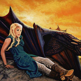 Paul Meijering - Game Of Thrones Painting