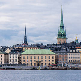 Gamla Stan Stockholm's Entrance By The Sea by Torbjorn Swenelius