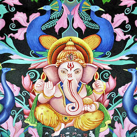 Ganesha Bliss by Bliss Of Art