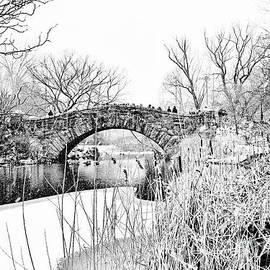 Regina Geoghan - Gapstow Bridge Snow Scene