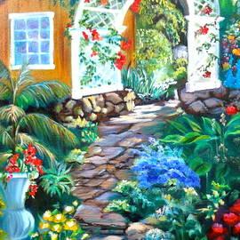 Garden  Path by Jenny Lee