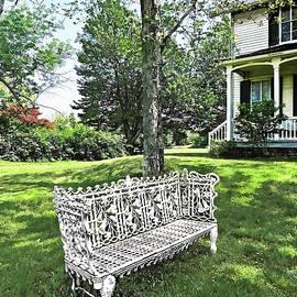 Susan Savad - Garden Bench