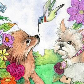 Garden dwellers by Julie McDoniel