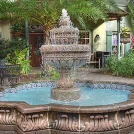Linda Covino - Garden fountain