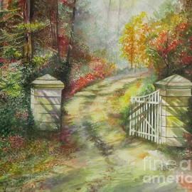 Garden Gate by Farideh Haghshenas