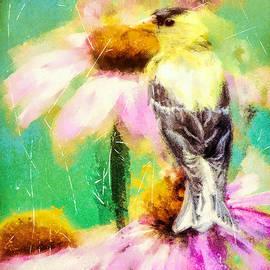 Tina LeCour - Garden Goldfinch
