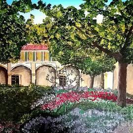 Irving Starr - Garden in Bloom, Arles