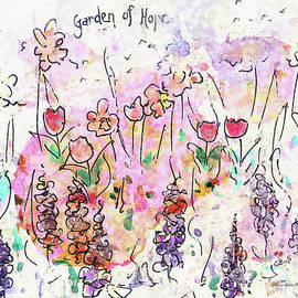 Garden Of Hope  by Claire Bull