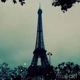 Garden Party Eiffel Tower by Marina McLain