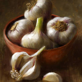 Garlic by Robert Papp