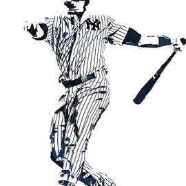 GARY SANCHEZ NEW YORK YANKEES PIXEL ART 1 - Joe Hamilton