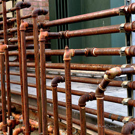 Gas Pipes and Fittings by Kae Cheatham