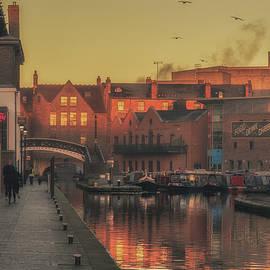 Gas Street Basin Sunrise No1  - Chris Fletcher