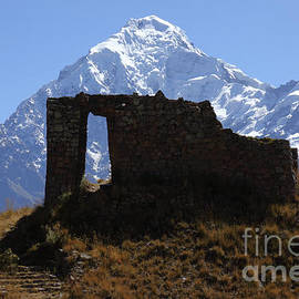 Mt Veronica and Inti Punku Sun Gate by James Brunker