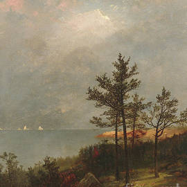 Gathering Storm on Long Island Sound, 1872 - John Frederick Kensett
