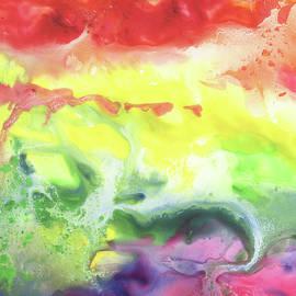 Gazing At The Rainbow Abstract VI - Irina Sztukowski