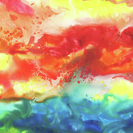 Gazing At The Rainbow Abstract VII - Irina Sztukowski