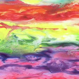 Gazing At The Rainbow Abstract VIII by Irina Sztukowski