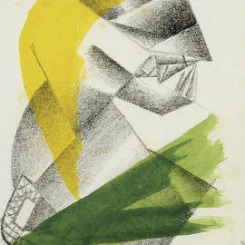 Gebet II, circa 1913 - Kazimir Malevich