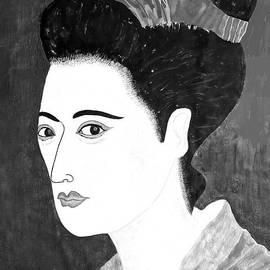 Taikan Nishimoto - Geisha In Kyoto By Taikan