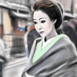 Yoshiyuki Uchida - Geisha No.72