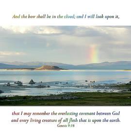 Genesis 9 Verse 16 by Eastern Sierra Gallery