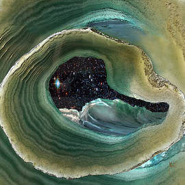 Geode Night Sky at High Tide by Michele Avanti