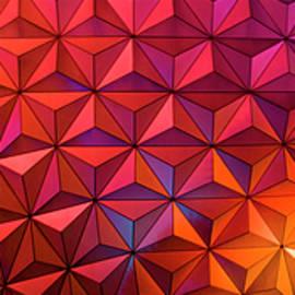 Geodesic Glow 2 by Christi Kraft