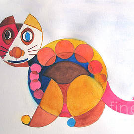 Sandy McIntire - Geometric Cat