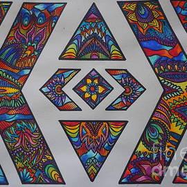 Kathryn Jinae - Geometric Colors