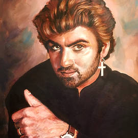 George Michael by Robert Korhonen