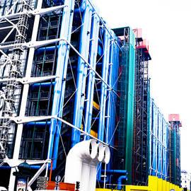 George Pompidou Center Paris . by Cyril Jayant
