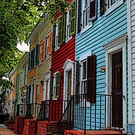 Georgetown Shutter Row by Jost Houk
