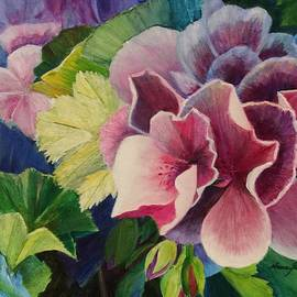 Nancy Shen - Geranium - close up