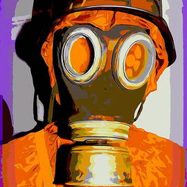 German Gas Mask by Ed Weidman