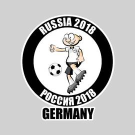 Germany in the Soccer World Cup Russia 2018 by Daniel Ghioldi