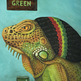 Get Medicated Detail by Leah Saulnier The Painting Maniac
