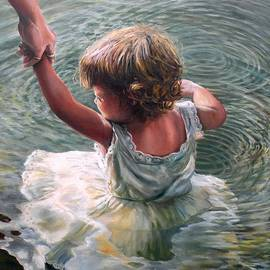 Eileen Patten Oliver - Getting Her Feet Wet
