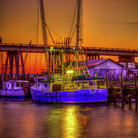 Reid Callaway - Getting Ready Tybee Island Shrimp Boat Catina Renea Savannah GA