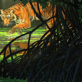 Ghost of the Sunderbans - Bengal Tiger - Aaron Blaise