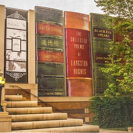 Giant Bookshelf by Pamela Williams