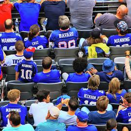 Allen Beatty - Giant Fans Vote With Their Jerseys