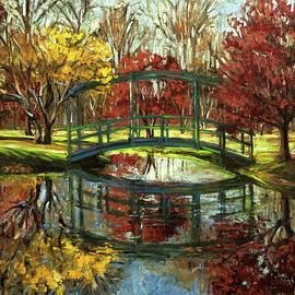 Kim Karelson - Gibbs Garden Bridge