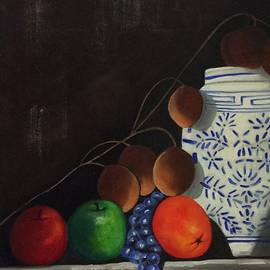 Tammy Powell - Ginger Jar with Fruit