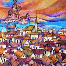 Gingerbread Prague.  by Anna Duyunova