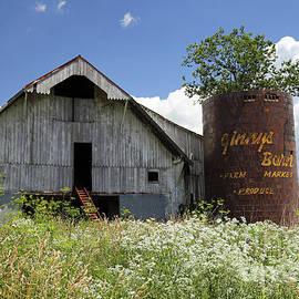 Ginnys Barn, Stilesville, Indiana by Steve Gass